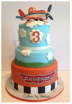 planes fire and rescue cake | Planes Cake