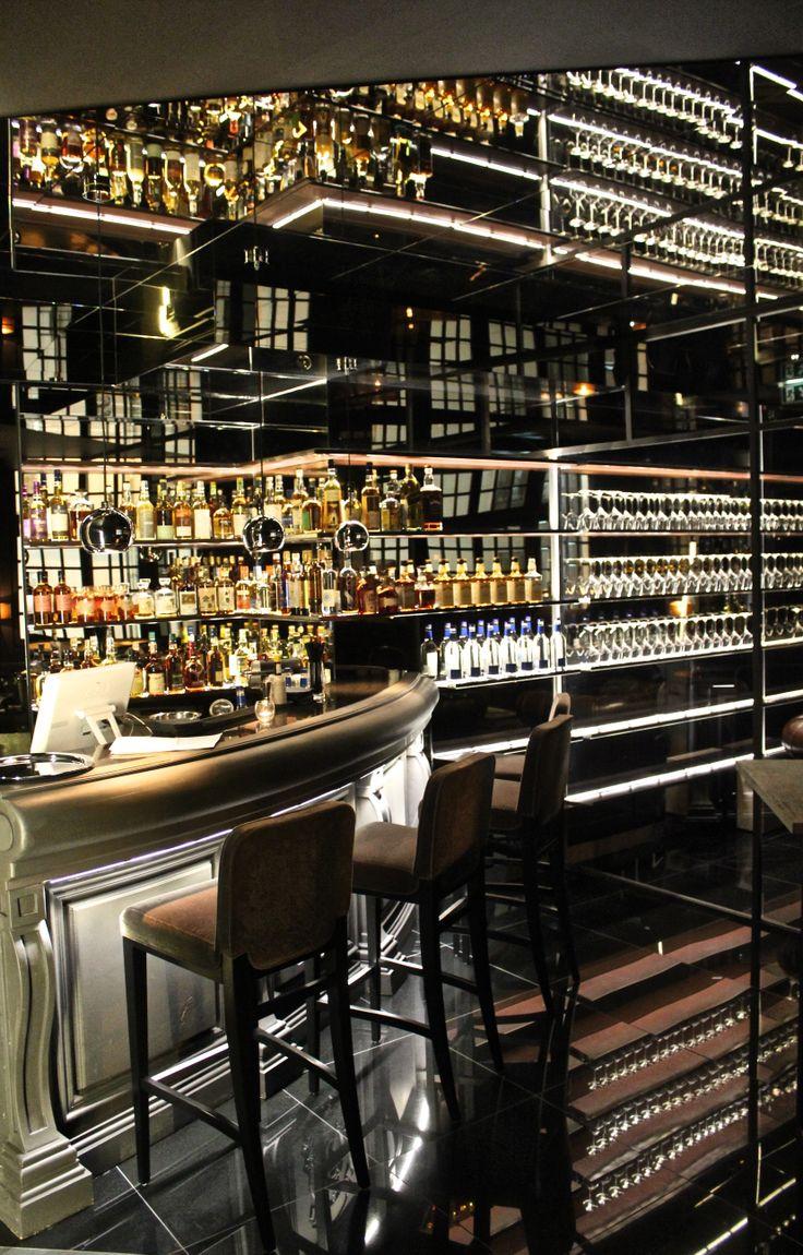El caliente bar by sweet co tokyo 187 retail design blog - Whiskey Bar Cigar Lounge At Steaking Paris 06