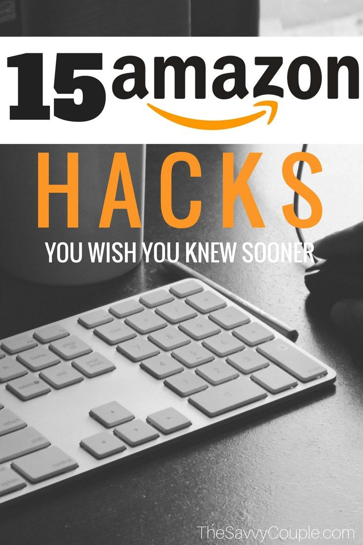 These 15 Amazon Hacks to help you save money are insane! If you have an Amazon Prime membership you are probably still missing out on a ton of savings! This holiday season get your shopping done right on Amazon.com! Women | Moms | Shopping | Christmass | Amazon Ideas | Amazon Deals | Black Friday | Cyber Monday