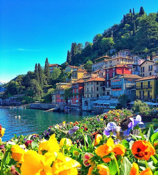 Varenna, Lake Como, Italy. Photo by: @kardinalmelon Explore. Share. Inspire: #earthfocus