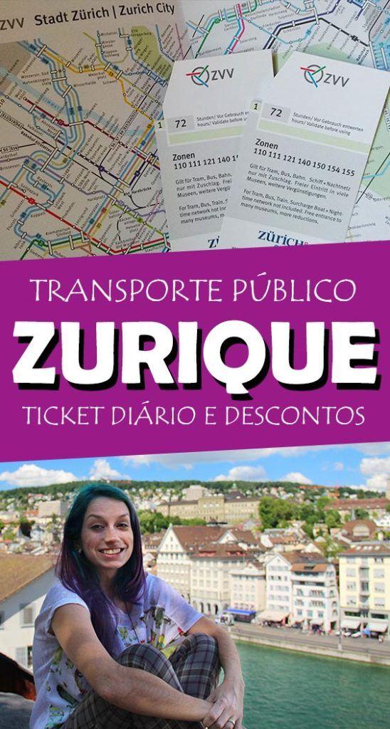 Zürich Card, transporte público incluso em Zurique mais descontos e atrações gratuitas!