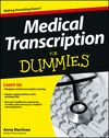 Medical Transcription For Dummies:Book Information - For Dummies