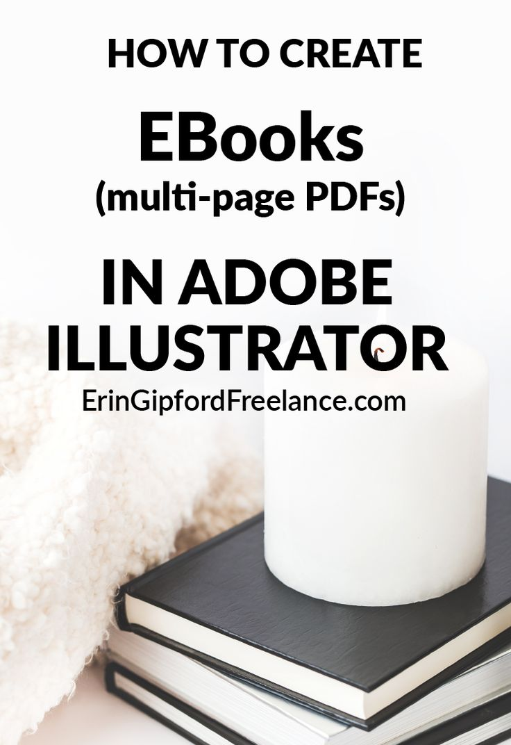 Adobe Illustrator VIDEO Tutorial: How to create EBooks in Adobe Illustrator