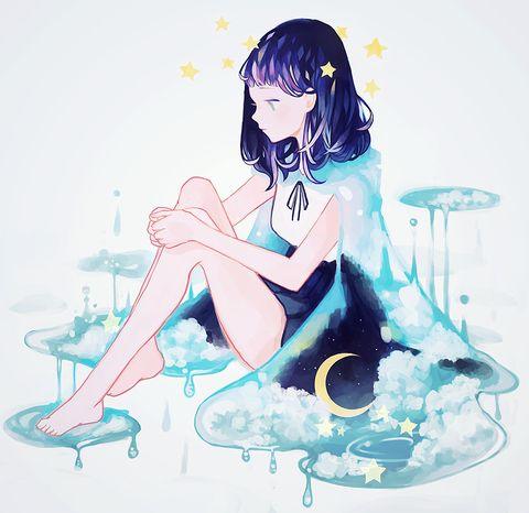 「translucent raincoat.」/「tofuvi」のイラスト [pixiv]