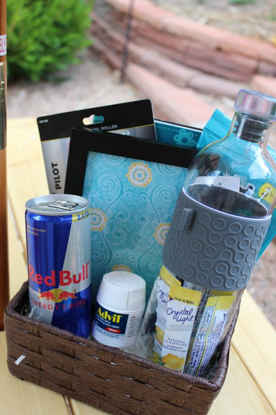 Back to College Gift Basket by GiftingMadeEasy on Etsy, $65.00