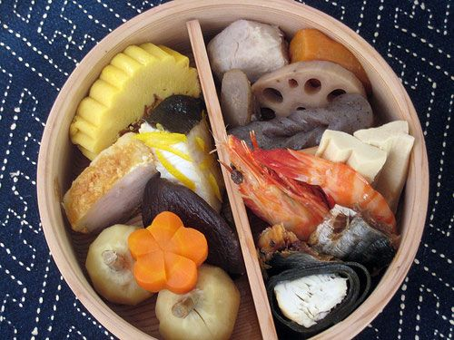 Osechi Ryouri (Japanese New Year's feast food)
