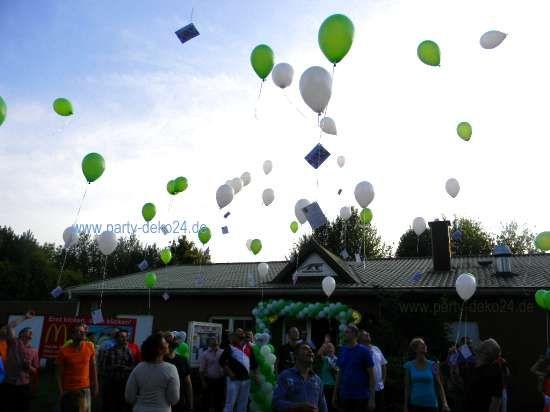Luftballonwettbewerb / Ballonflug Wettbewerb