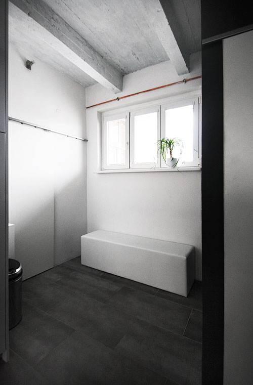 Industrial Flat Interior Design - Bathroom Design