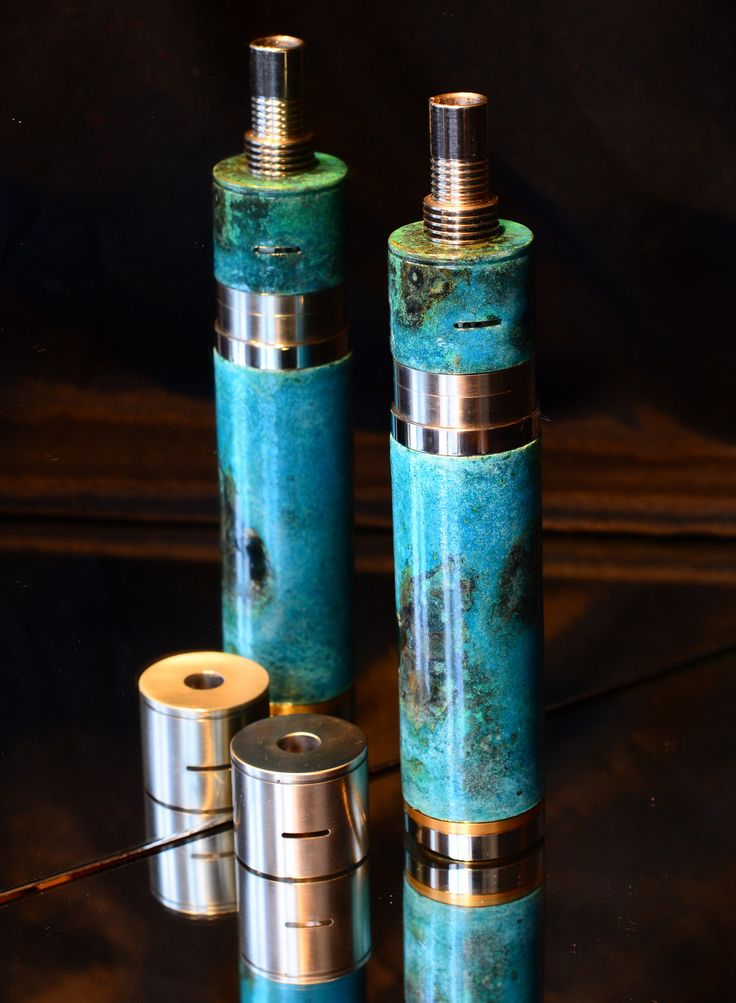 Authentic War Mod by Chief Vapers. 26650 Mechanical Mod. Cerberus RDA - Patina | eBay