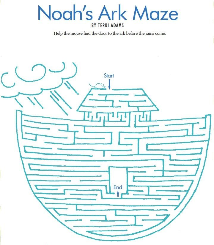 LDS Games - Mazes - Noahs Ark                                                                                                                                                                                 More