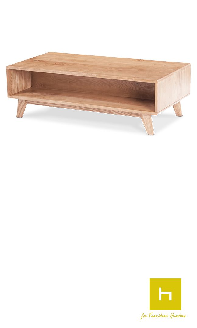 The Arco Storage Coffee Table is designed and manufactured in New Zealand. Complete with a handy storage space for magazines, cushions or books this coffee table combines great aesthetic design with functionality. #coffeetable #furniturehunters #nzmade