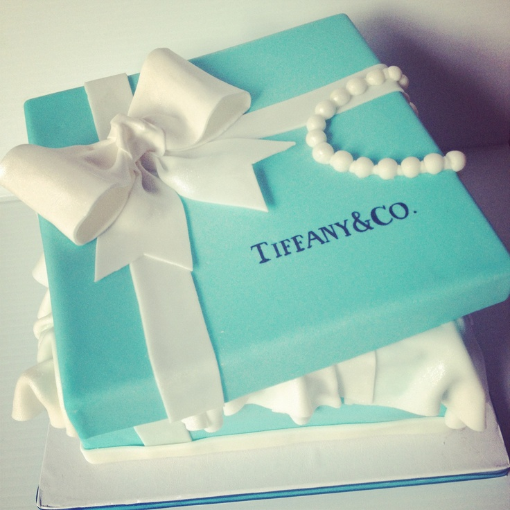 162 best gift box cakes and images on tiffanys gift box cake i made for my boss wife the bow was from a tutorial i learned from lesley at royal bakery this cake is pretty much fully negle Images