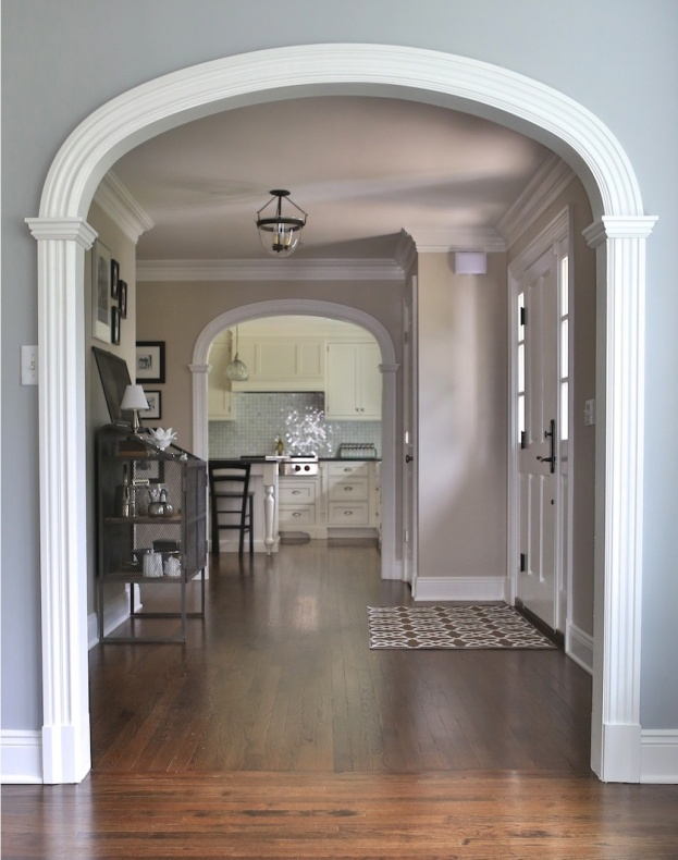 Best 25 archways in homes ideas on pinterest crown for Living room archway designs