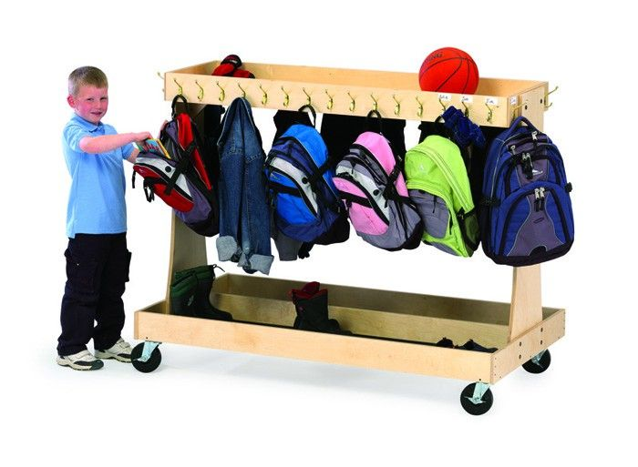 classroom coat and backpack storage solutions - Google