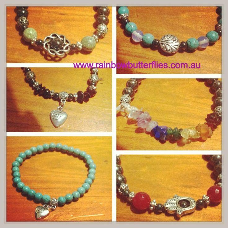 New bracelets 2014  www.rainbowbutterflies.com.au