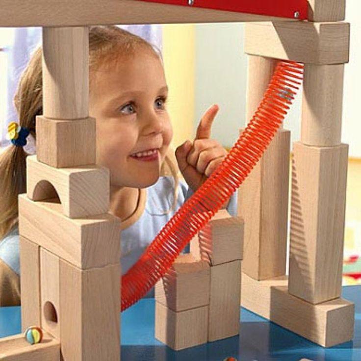 HABA Kugelbahn Spiralbahn 1089 #HABA #Kugelbahn #Spielzeug #Kinderspielzeug #Spiralbahn #Holzkugelbahn #Verbindungselemente #Höhenabstufungen #ab3Jahren