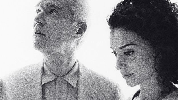 Yay! David Byrne teaming up with St. Vincent! A grand surprise of a duo to meet epic proportions:)