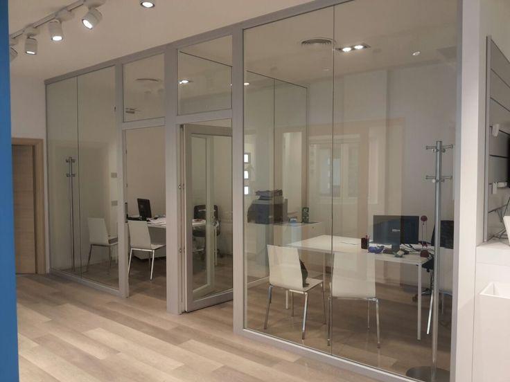 Progettazione Showroom per Gruppo Finestre Lavoro per Barberini Allestimenti #ufficio  #showroom #exhibit #exhibition