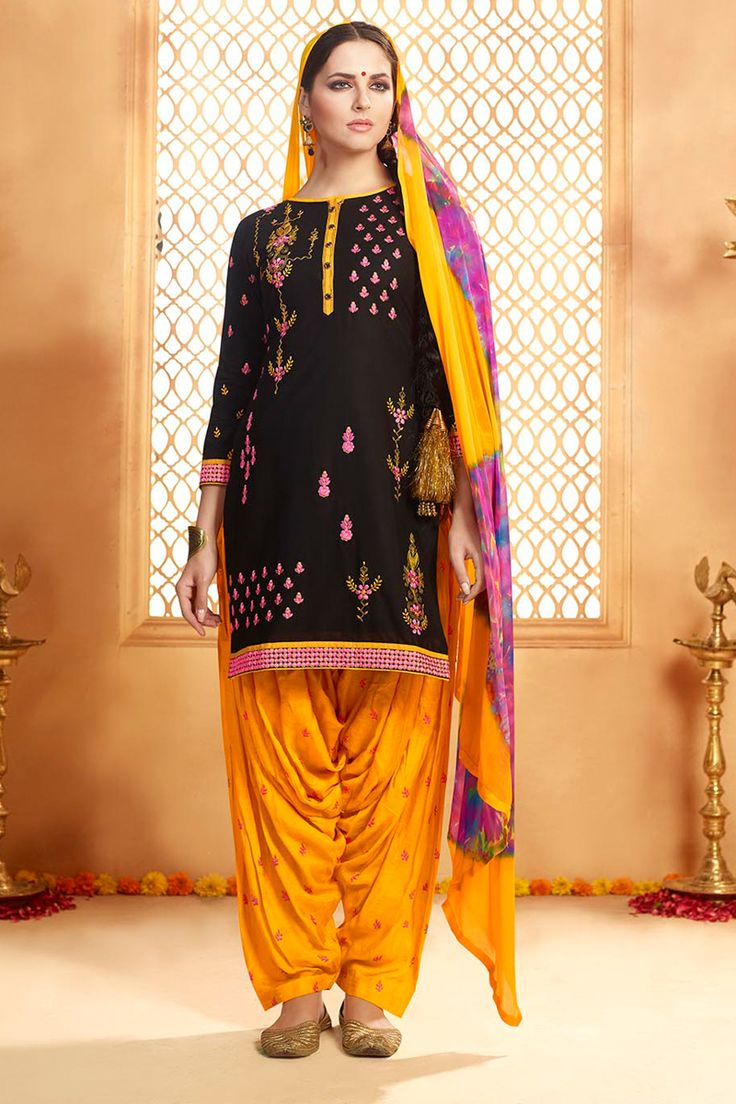 Stylish Functional Wear Black Yellow Suits With Work 9154