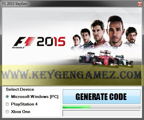 Are you looking for F1 2015 KeyGen? If the answer is YES, you've got in the right area. If you don't know how to generate free serial codes with F1 2015 KeyGen Tool for F1 2015 video game, you will learn in this article. So read it entirely!