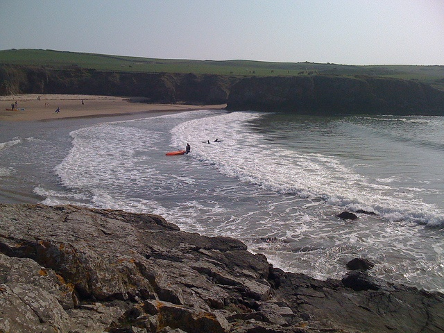 Porth Trecastell, Anglesey - we can visit this on our Wet Weekends - http://www.goneswimming.co.uk/wet-weekends.html