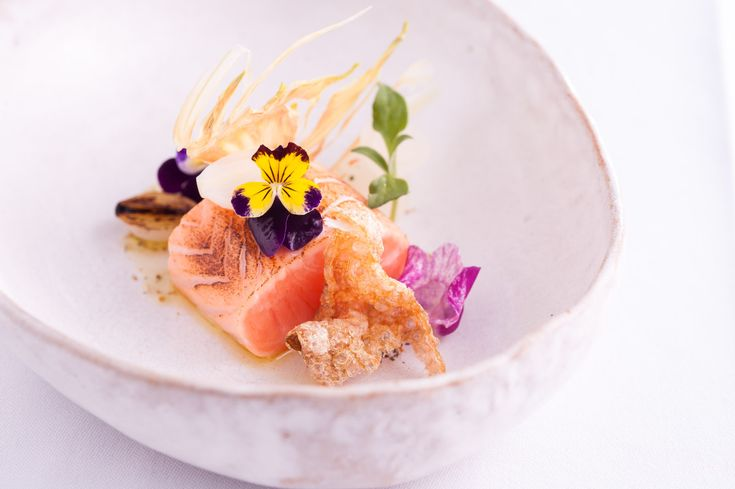 WESTER ROSS SEARED SALMON LOIN, FENNEL POLLEN AND SWEET ONION - If you're looking for a sophisticated salmon dish that's sure to impress we don't think you can go wrong with this sous vide recipe from Chef Lisa Allen.