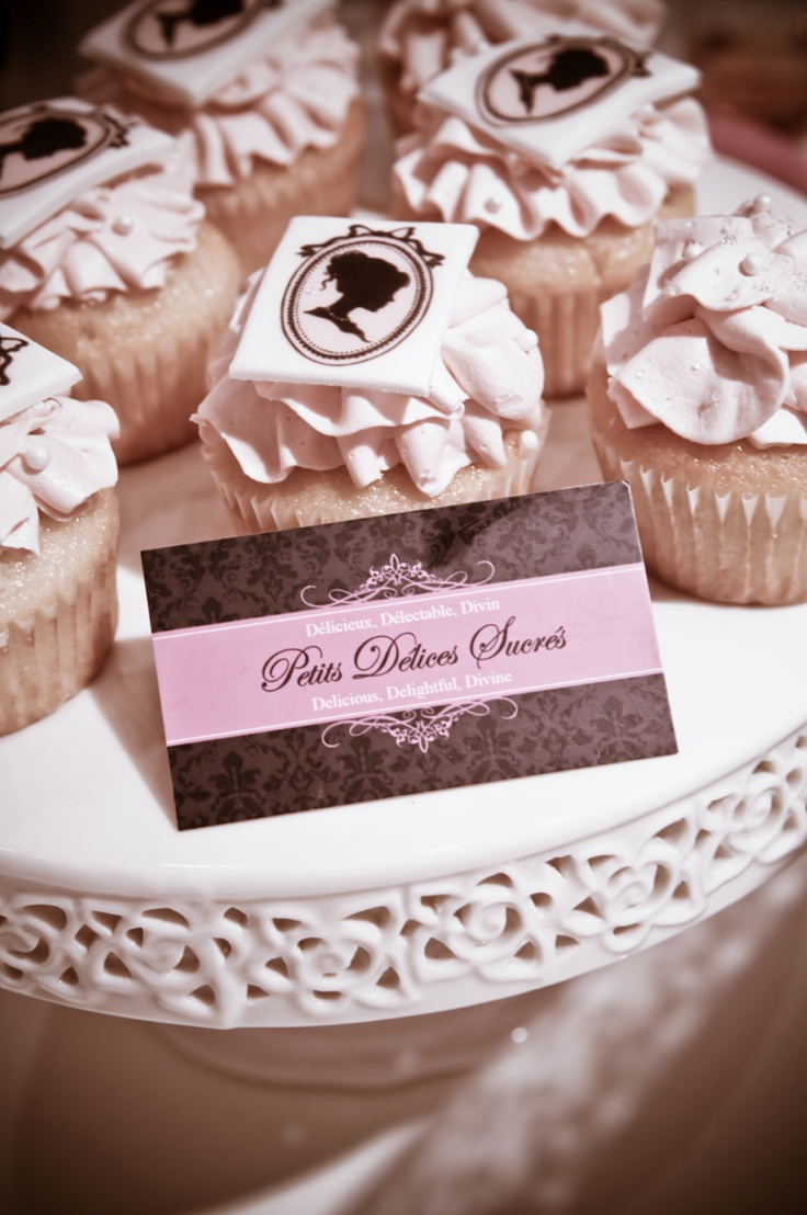 Boutique 1861 Pink Party cupcakes..
