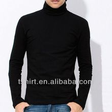 Blank long sleeve mens cotton turtleneck t shirts  best buy follow this link http://shopingayo.space