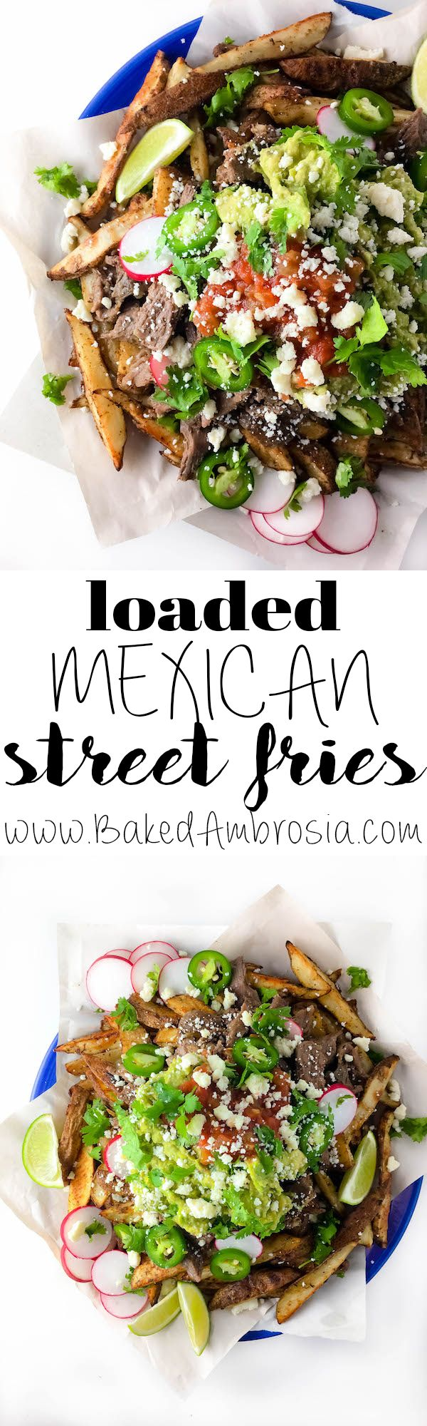 ADDICTING Loaded Mexican Street Fries