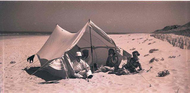 Vlieland - vakantie badgasten - jaren '30 | Flickr - Photo Sharing!