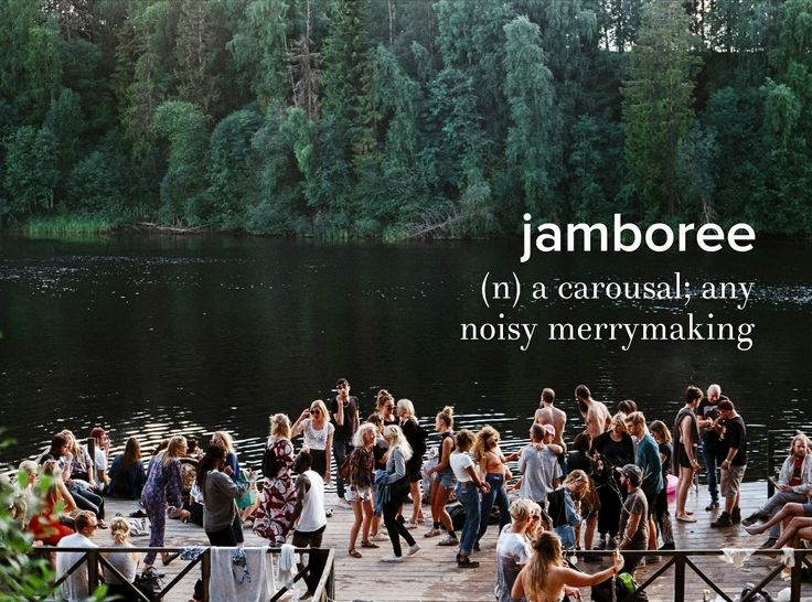 We had a jamboree on the river today as we floated (floated=smashing into trees, rocks, and lots of spider webs). . . . #devonstrang #wordoftheday #wotd #word #words #dictionary #language #definition #jamboree #noisy #loud #noise #merry #fun
