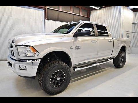 2012 Dodge Ram 2500 Diesel Laramie Longhorn Lifted Truck