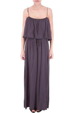 Allie long dress dark grey