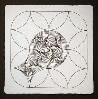 how to start a paradox http://zentangle.blogspot.com/2011/09/paradox-challenge.html