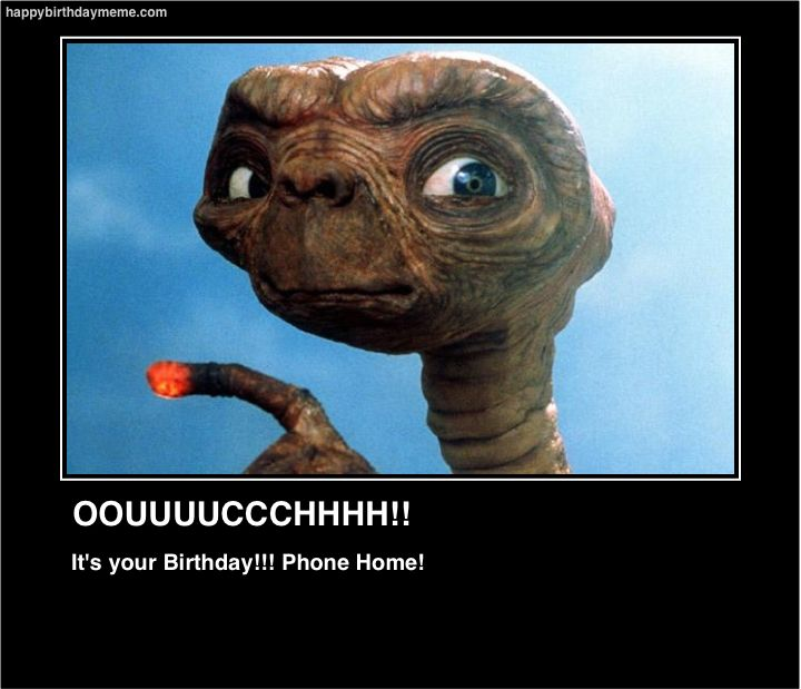 E.T says time to call