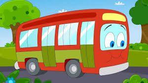 De wielen van de bus die draaien rond  Draaien rond, draaien rond  De wielen van de bus die draaien rond  Als de bus gaat rijden  De deuren van de bus gaan open en dicht  Open en dicht, open en dicht  De deuren van de bus gaan open en dicht  Als de bus gaat rijden  De wissers van de bus gaan heen en weer  Heen en weer, heen en weer  De wissers van de bus gaan heen en weer  Als de bus gaat rijden