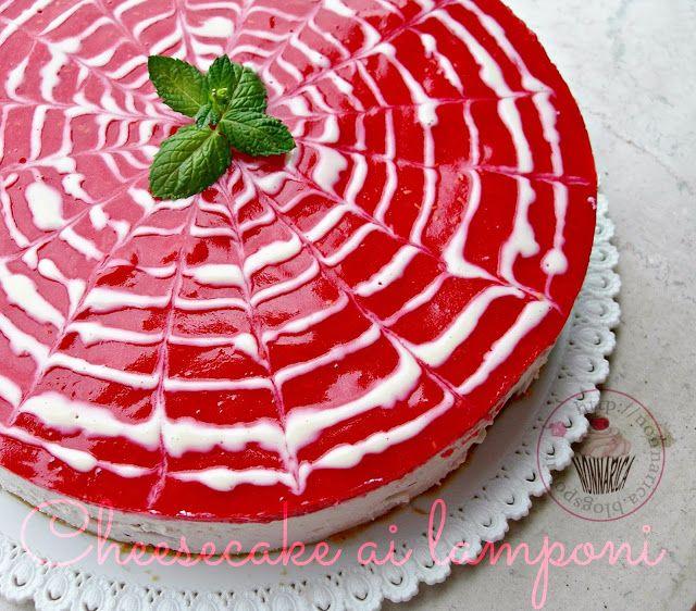 Tripudio di lamponi cheesecake