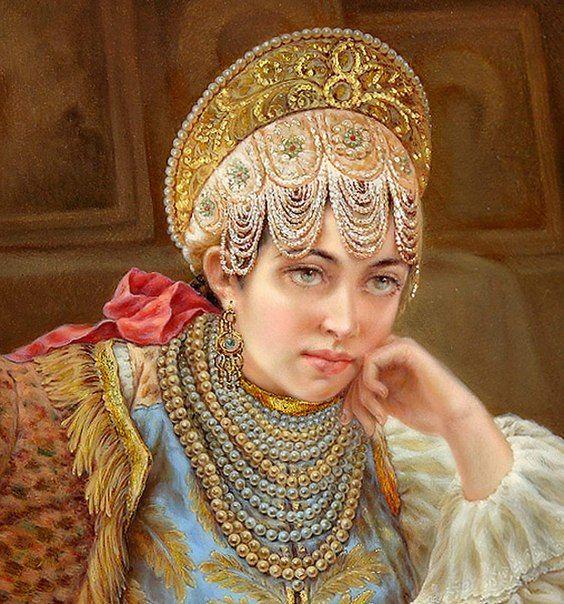 Федоскино - Лаковая миниатюра. | 400 фотографий | ВКонтакте