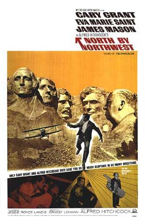 [ NORTH BY NORTHWEST POSTER ]