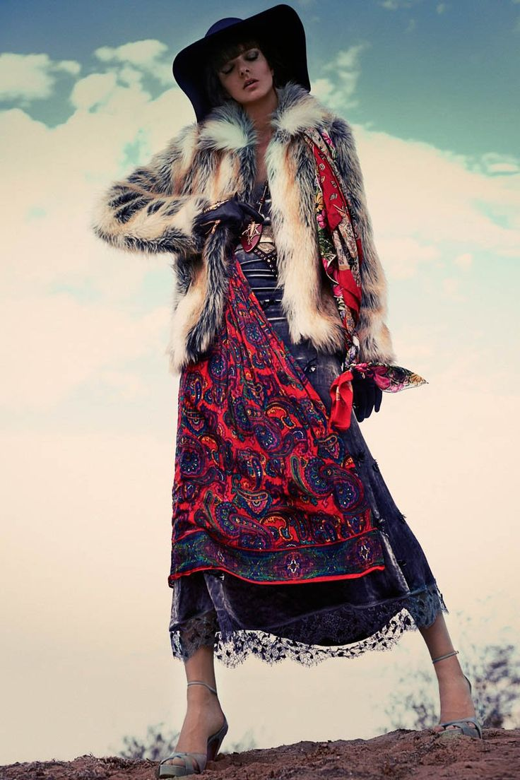 bohemian marie claire2 Lauren Switzer is Bohemian Chic for Marie Claire Latin America by Vladimir Martí