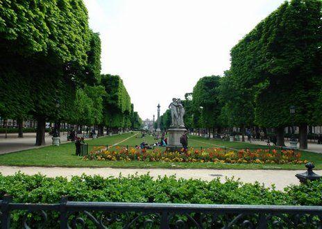 L'esplanade Gaston Monnerville