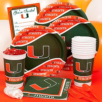 University of Miami Party Pack