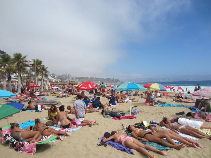 Beach in Renaca, #Chile