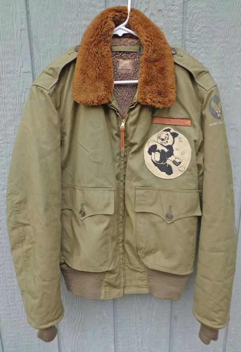 WW2 Stenciled Bomber Jacket 1