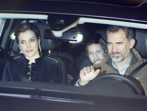 Queen Letizia, Princess Leonor and Princess Sofia