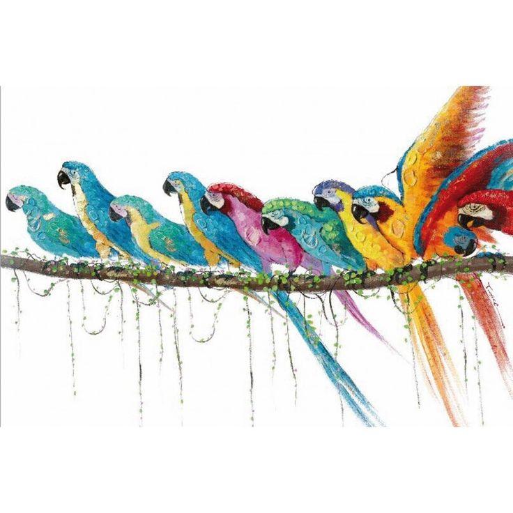 Les 25 meilleures id es de la cat gorie peinture dynamique sur pinterest murs d 39 accent peints - Peinture murale contemporaine ...