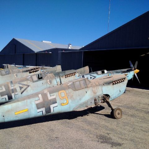 Planes from Battle Of Britain being restored for movie remake?