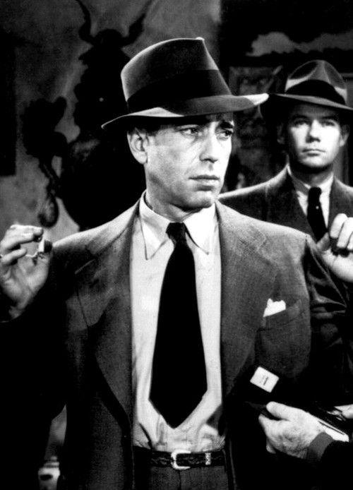 Humphrey Bogart in 'The Big Sleep' (Dir. Howard Hawks, 1946)