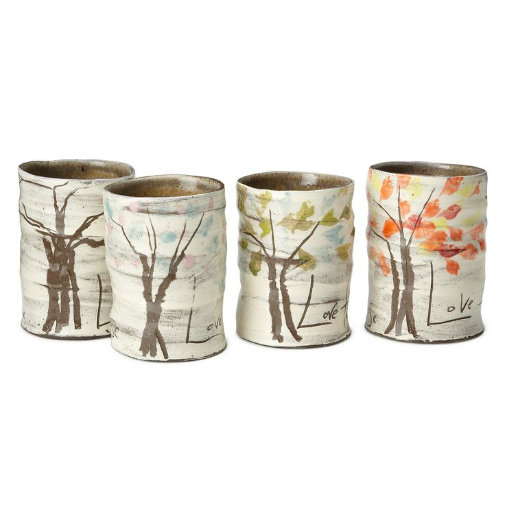 Great mugs: Neat Products, Mugs Sets, Change Seasons, Gift Ideas, House Warm, Four Seasons, Ceramic Mugs, Ceramics, Uncommongoods Com