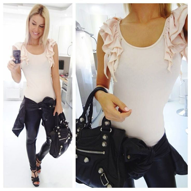 Frilly Poluenta top available in www.myloveshop.hu